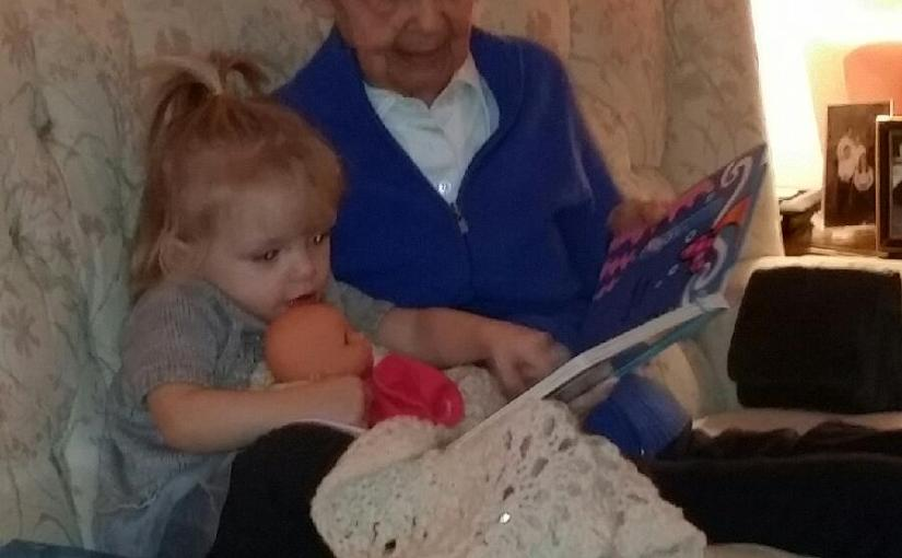 Day 305: Christmas Visit with Great Grandma Lynch