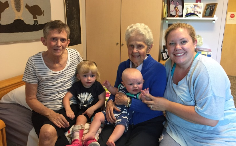 Day 495: 4 Generations!