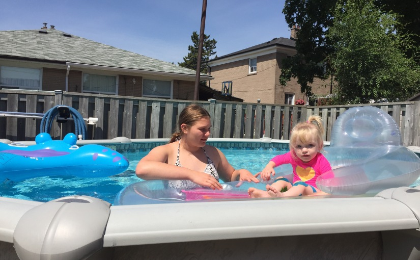 Day 503: Swimming!